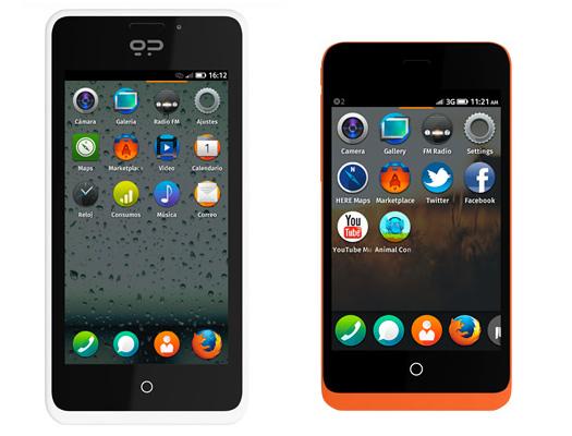 Geeksphone Peak y Keon primeros smartphones con Firefox OS