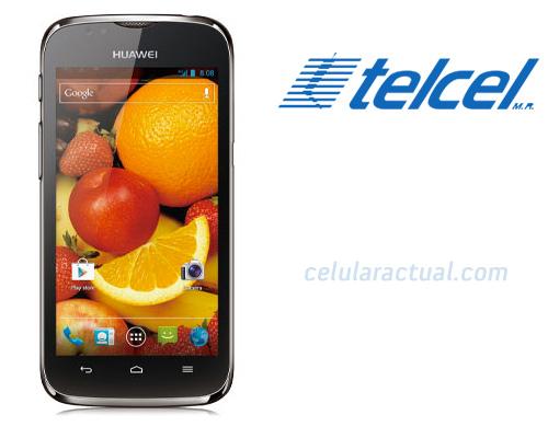 Huawei Ascend P1 LTE U9202L-3 en México con Telcel