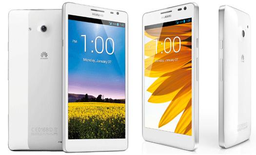 Huawei Ascend D2 y Ascend Mate