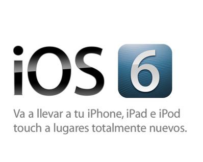 Apple lanza iOS 6.1 con más soporte a LTE