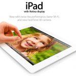 Apple iPad de 128 GB es oficial y llega en febrero