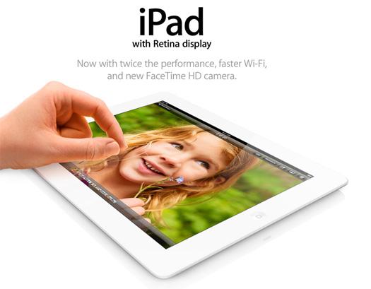 Apple iPad 4 Retina 128 GB