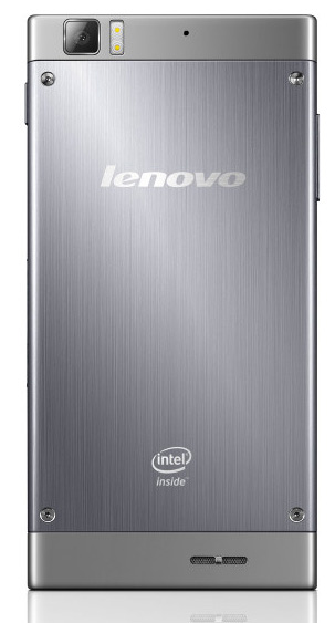 Lenovo K900 Intel 5.5 pulgadas 1080p trasera