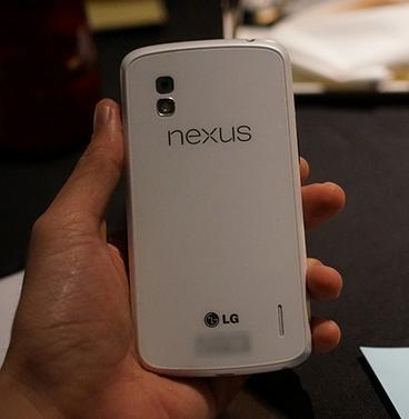 LG Nexus 4 en color blanco