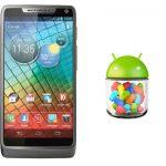 Motorola RAZR i comienza a recibir Android Jelly Bean