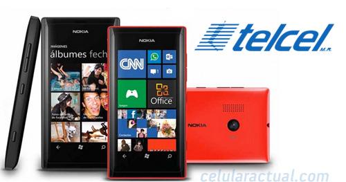 Nokia Lumia 505 en México con Telcel