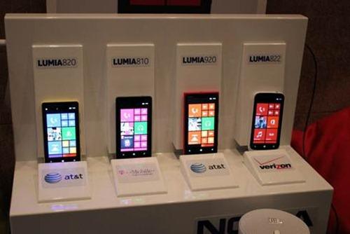 Nokia Lumia 820, 810, 920 y 8220 en el CES 2013