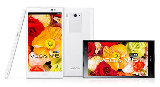 Pantech Vega No 6 con Jelly Bean y pantalla 5.9 1080p