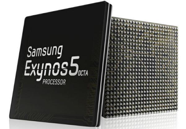 Samsung Exynos 5 Octa chipset 8 núcleos Render oficial