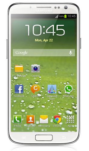 Samsung Galaxy S IV maqueta, render no oficial