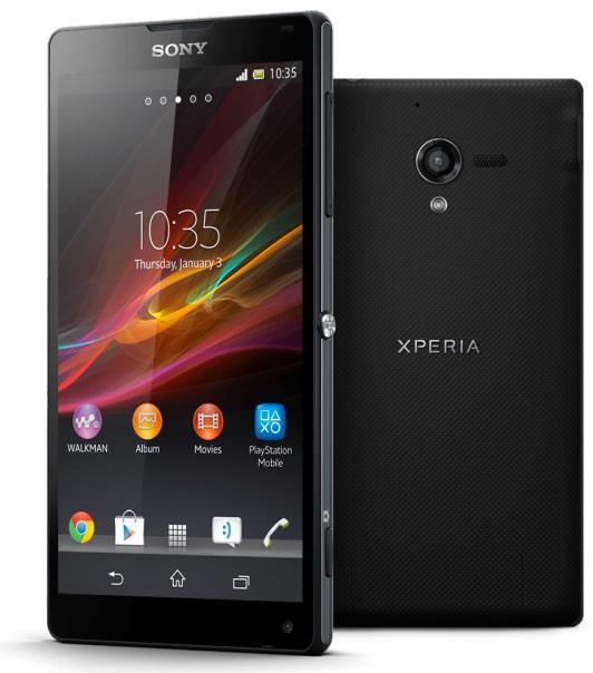 Sony Xperia ZL con 5 pulgadas a 1080p Android 4.1 Jelly Bean