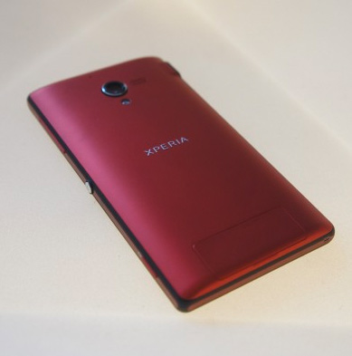 Sony Xperia ZL color Rojo