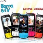 Zonda ZM70 teléfono de barra con TV gratis ya en México