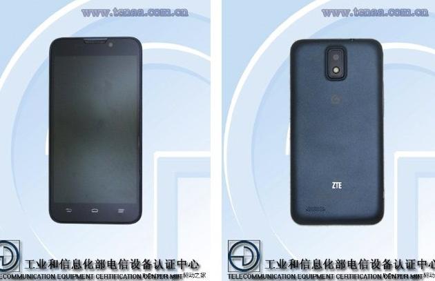 ZTE U956 MT6589 con 5 pulgadas HD quad-core