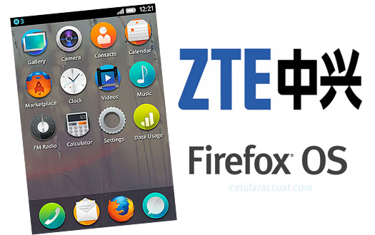 ZTE teléfono con Firefox OS
