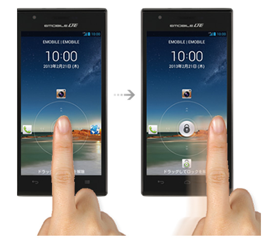 Huawei Ascend P2 para Japón