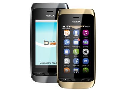Nokia Asha 310 dual-SIM básico con WiFi