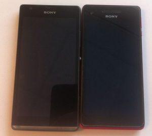El Sony Xperia SP se deja ver en fotos junto al Xperia V