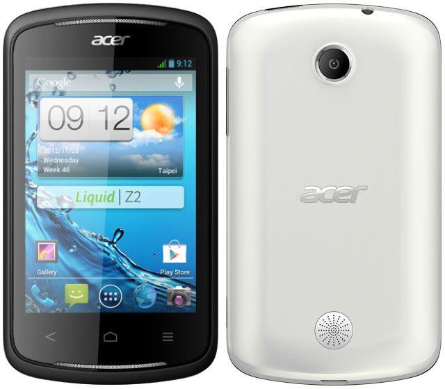 Acer Liquid Z2 con Android Jelly Bean y dual-SIM