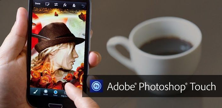 Adobe Photoshop Touch for phone para iPhone y Android