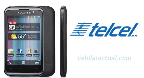 Alcatel OT-991 en México con Telcel