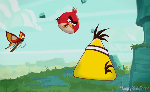 Angry Birds Toons la caricatura