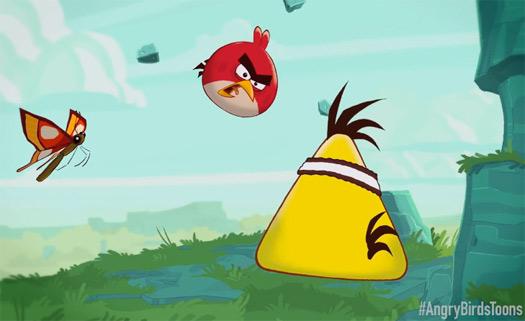 Angry Birds Toons la caricatura