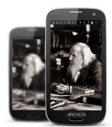 Archos 48 Platinum Android smartphone