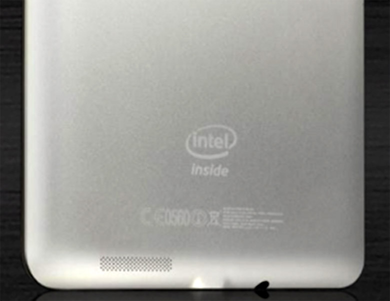 Asus Fonepad 7 Intel parte trasera