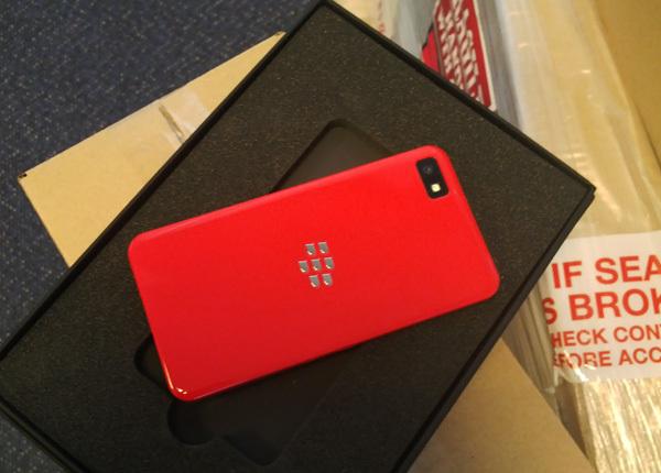 BlackBerry Z10 edición limitada color Rojo para desarrolladores