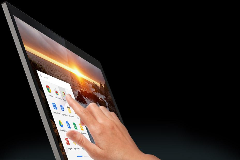 Google Chromebook Pixel pantalla touch