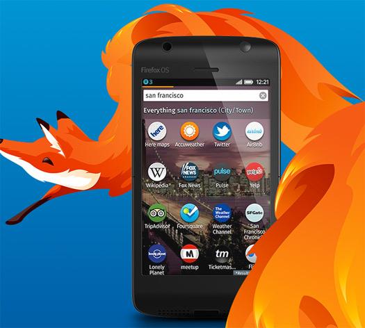 Smartphones con Firefox OS