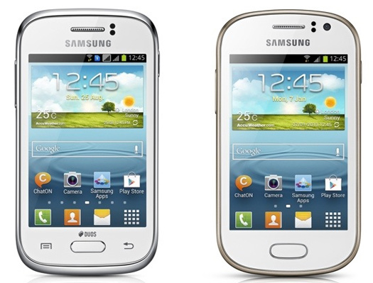 Samsung Galaxy Fame y Galaxy Young oficiales