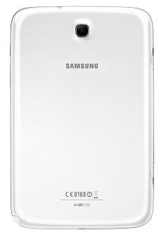 Samsung Galaxy Note 8.0 oficial color blanco trasera