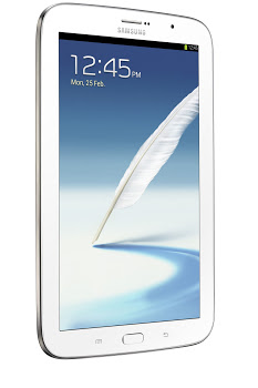 Samsung Galaxy Note 8.0 oficial color blanco