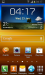 Samsung Galaxy S II captura con Android 4.1 Jelly Bean