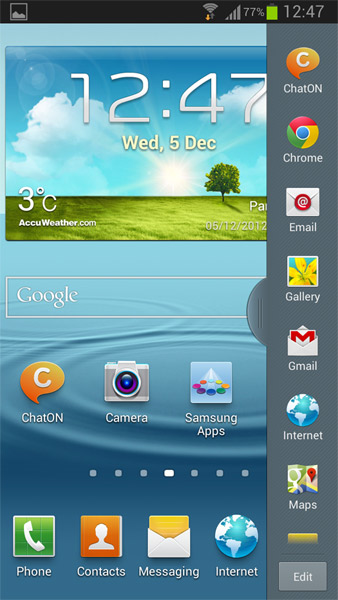 Android 4.1.2 Jelly Bean para el Galaxy S III