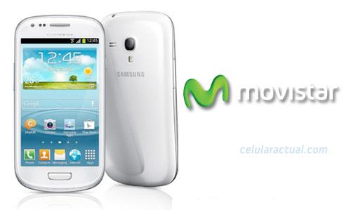 Samsung Galaxy S III mini en Movistar México