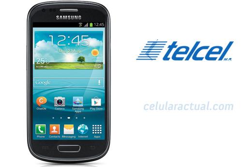 Samsung Galaxy S III mini en color negro en México con Telcel