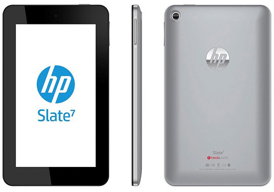 HP Slate 7 Android Jelly Bean Beats Audio