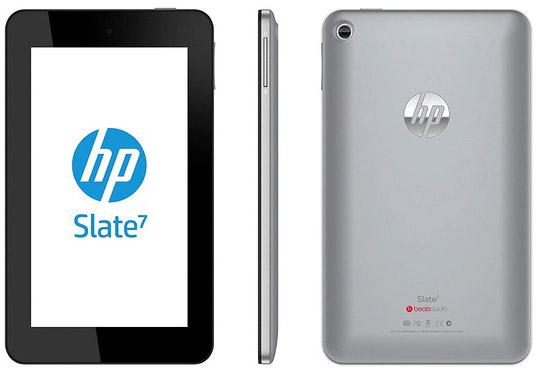 HP Slate 7 Android Jelly Bean Beats Audio