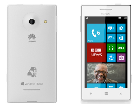 Huawei 4Afrika  con Windows Phone 8