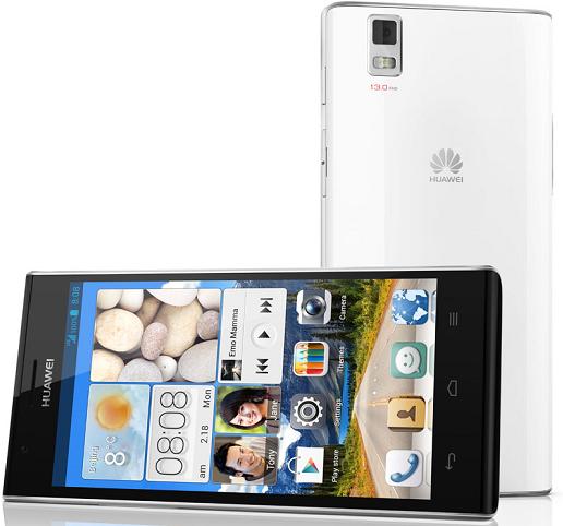 """Huawei Ascend P2 con pantalla de 4.7"""" 720p oficial"""