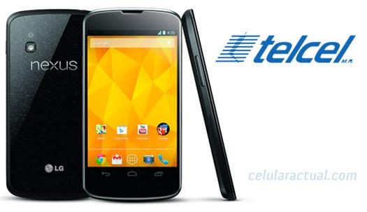 LG Nexus 4 en México con Telcel