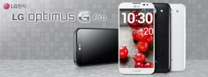 LG Optimus G Pro de 5.5 pulgadas a 1080p es mostrado oficialmente