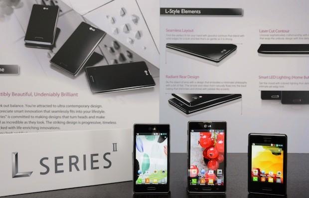 LG Optimus L Series II L3 II, L5 II y L7 II