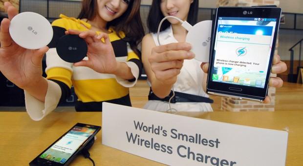LG cargador inalámbrico más pequeño WCP-300