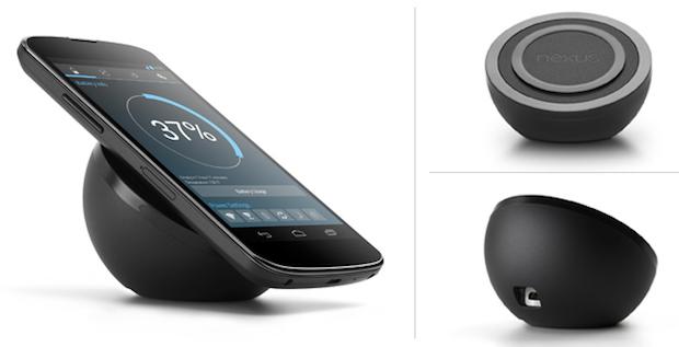 LG Nexus 4 cargador inalámbrico