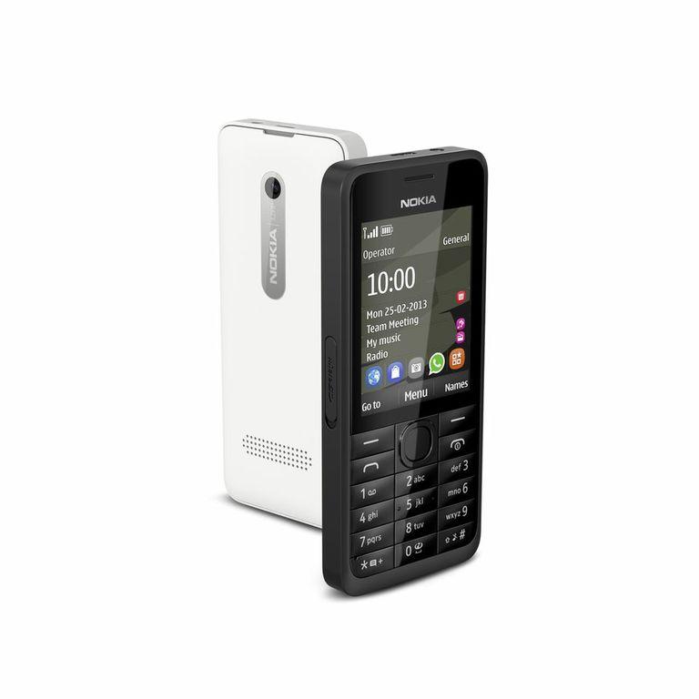 Nokia 301un básico inteligente