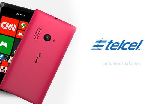 Nokia Lumia 505 color rosa con Telcel en México